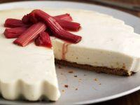 Cheesecake mit Rhabarber Rezept