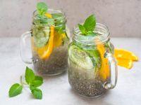 Chia-Detox-Wasser Rezept