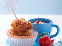 Chicken Nuggets mit Tomatensauce Rezept