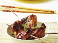 Chicken Wings auf asiatische Art mariniert Rezept