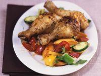 Chicken Wings mit Gemüse Rezept