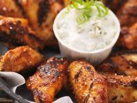 Chicken Wings mit Käsedip Rezept