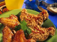 Chicken Wings mit Knusper-Brot Rezept