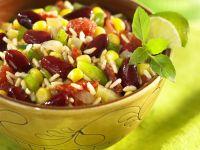 Chili sin Carne mit Reis (Chili ohne Fleisch) Rezept