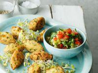 Chiliplätzchen mit Salsa Rezept