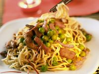 Chinesische Nudelpfanne Rezept