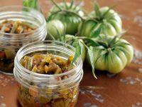 Chutney aus grünen Tomaten Rezept