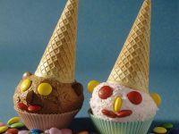 Clowns aus Eiscreme für Kinder Rezept