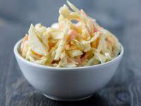 Den amerikanischen Krautsalat Coleslaw selber machen