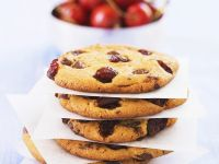 Cookies mit Kirschen Rezept