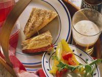 Cornen Beef-Sandwich mit Sauerkraut Rezept