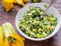 Couscous-Kräuter-Füllung für Zucchiniblüten Rezept