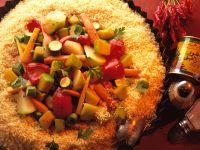 Couscous mit buntem Gemüse Rezept