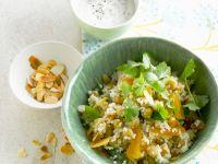 Couscous mit Kichererbsen und Aprikosen Rezept