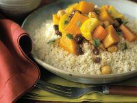 Couscous mit Kürbisgemüse Rezept