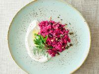 Couscous-Quinoa-Salat mit Roter Bete Rezept