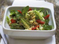 Couscous-Spargel-Salat mit Minze Rezept