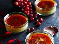 Cranbeerie-Creme-Brulee Rezept