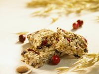 Cranberry-Müsliriegel Rezept