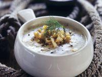 Cremige Fischsuppe mit geräuchertem Fisch Rezept