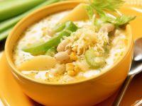 Cremige Gemüsesuppe Rezept