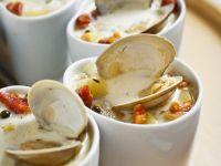 Cremige Kartoffel-Muschelsuppe Rezept