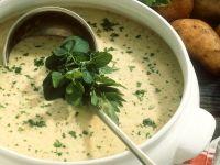 Kartoffelcremesuppe aus der Mikro Rezept