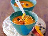 Cremige Kokos-Kürbis-Suppe Rezept