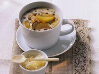 Cremige Linsensuppe mit Steinpilzen Rezept
