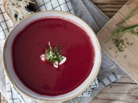 Cremige Rote-Bete-Suppe Rezept
