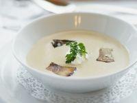 Cremige Steinpilz-Kartoffel-Suppe Rezept