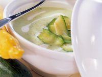 Cremige Zucchinisuppe Rezept