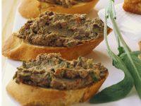 Crostini mit Geflügelleber