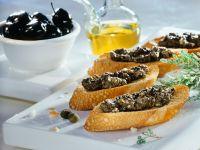 Crostini mit Tapenade Rezept