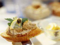 Crostini mit Thunfischcreme Rezept