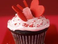 Cupcake mit Herzen Rezept