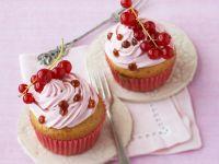 Cupcake mit Johannisbeeren Rezept