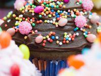 Cupcake mit Schokotopping Rezept