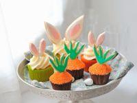Cupcakes mit österlicher Dekoration Rezept