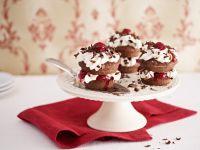 """Cupcakes """"Schwarzwälder Art"""" Rezept"""