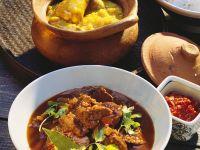Curry mit Schweinefleisch Rezept