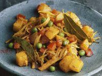 Curry mit Weißkohl Rezept