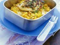 Curryreis mit Hähnchen Rezept