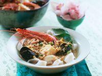 Currysuppe mit Meeresfrüchten Rezept