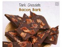 Schokolade mit Bacon und Meersalz