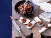 Dattel-Chutney mit Knoblauch