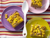 Dattelkuchen mit Mango Rezept