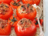 Deftig gefüllte Tomaten Rezept