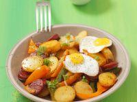 Deftige Bratkartoffeln Rezept
