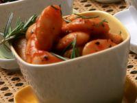 Dicke Bohnen in Tomatensauce Rezept